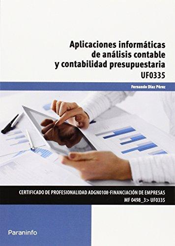 Aplicaciones informaticas de analisis contable y presupuesto