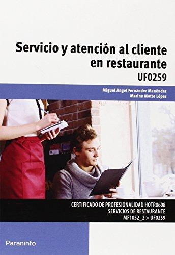 Servicio atencion al cliente en restauracion