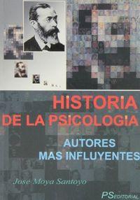 Historia de la psicologia. autores mas influyentes