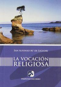 Vocacion religiosa (2. ed.),la
