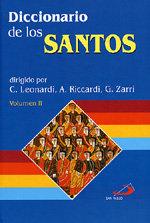 Diccionario de los santos (2 volumenes)