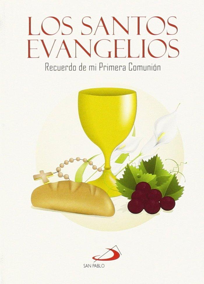 Santos evangelios recuerdo primera comunion