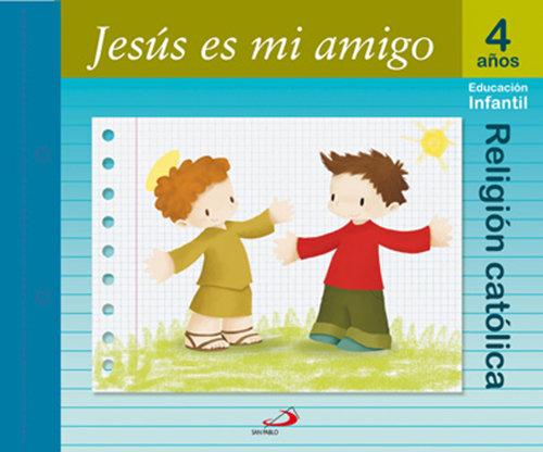 Religion 4años jesus es mi amigo 06 mana