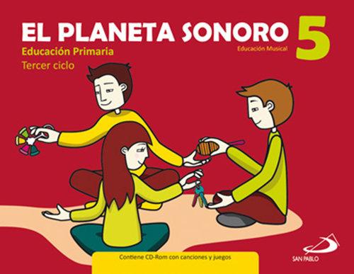 Pack planeta sonoro 5ºep (libro+cuaderno)