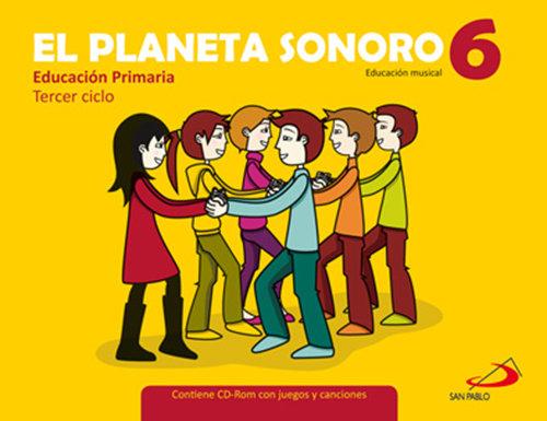 Pack planeta sonoro 6ºep (libro+cuaderno)