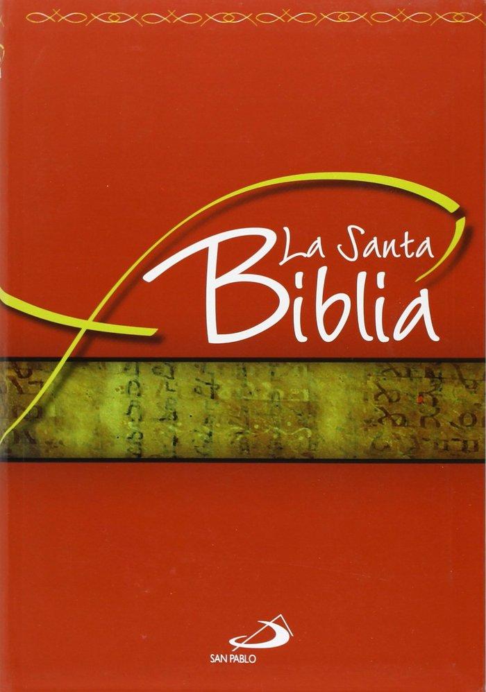 Santa biblia,la flexible roja