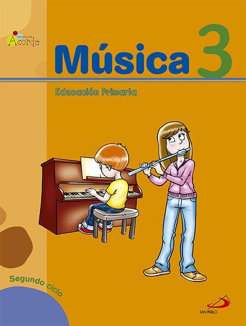 Musica 3ºep acorde mec libro+cuad.11