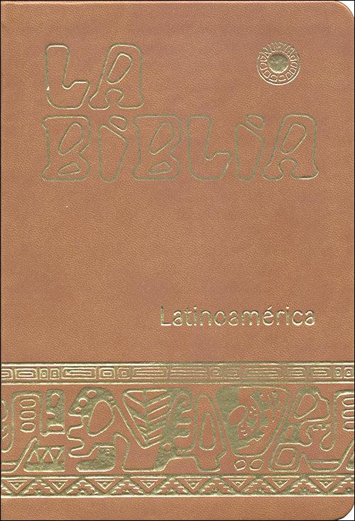 Biblia latinoamerica - ministro (simil-piel marron),la