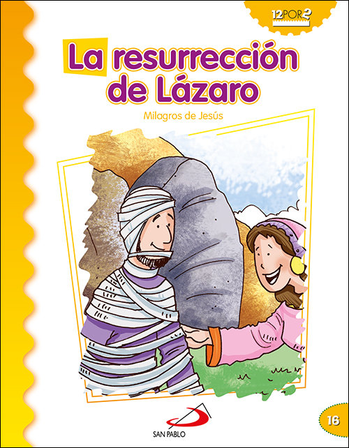 Resurreccion de lazaro,la milagros de jesus
