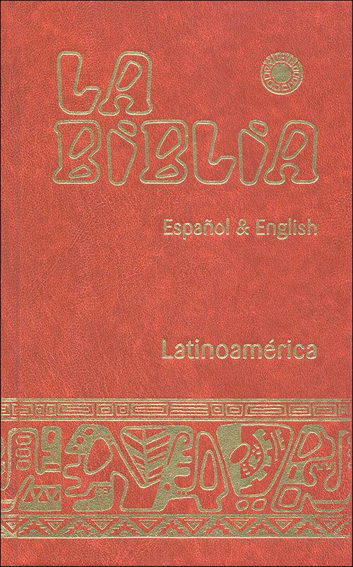 Biblia latinoamerica - español & english (cartone),la