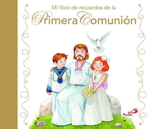 Mi libro de recuerdos primera comunion estuche