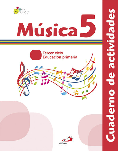 Cuaderno musica 5ºep acorde 13