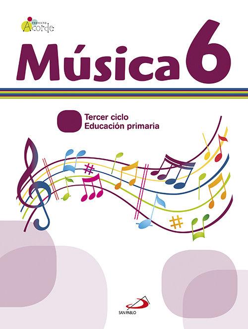 Musica 6ºep acorde mec libro+cuad.11