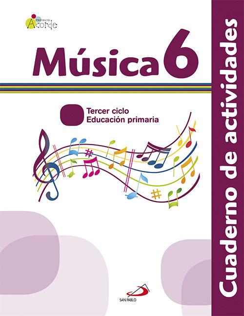 Cuaderno musica 6ºep acorde 13