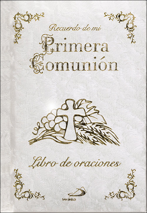 Misalito recuerdo de mi primera comunion libro oraciones