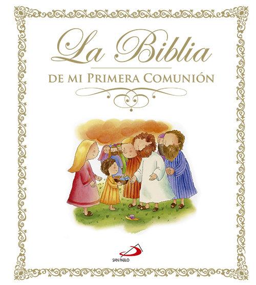 Biblia de mi primera comunion,la