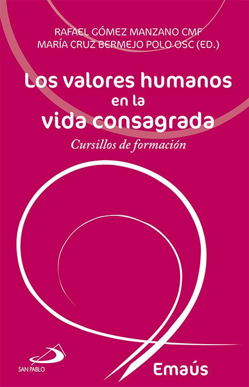 Valores humanos en la vida consagrada,los