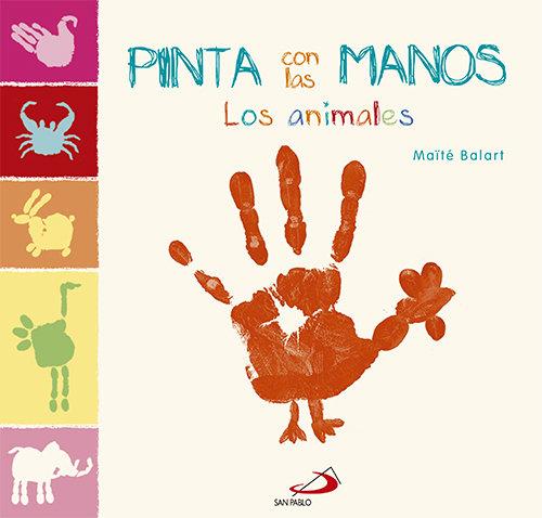Pinta con las manos los animales