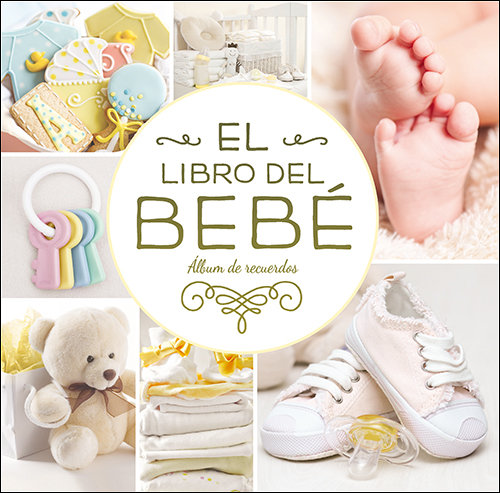 Libro del bebe (oro) album de recuerdos