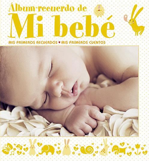 Album recuerdo de mi bebe (amarillo)