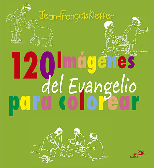 120 imagenes del evangelio para colorear