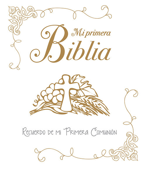 Mi primera biblia recuerdo de mi primera comunion