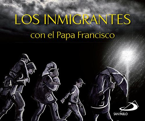 Inmigrantes con el papa francisco,los
