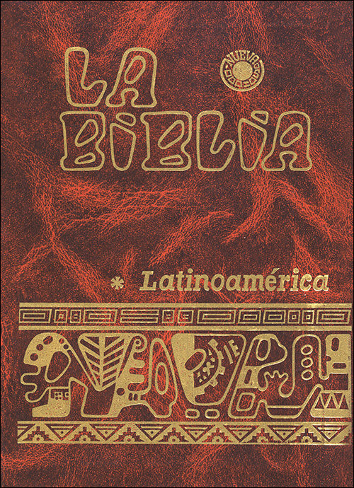 Biblia latinoamerica (bolsillo flexibinder bicolor),la