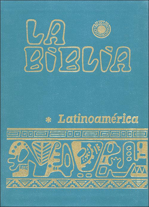 Biblia latinoamerica - letra normal (flexibinder monocolor),