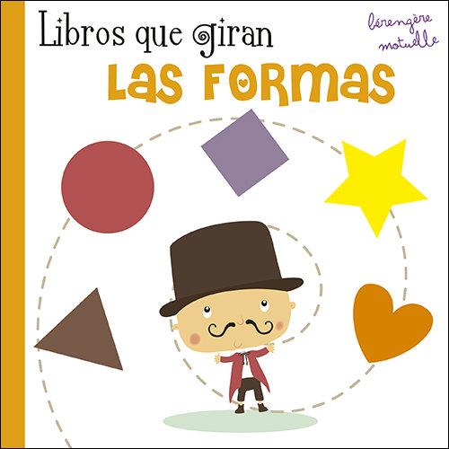 Libros que giran las formas