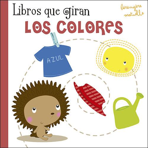 Libros que giran los colores