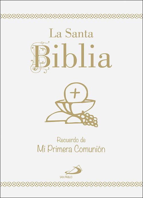 Santa biblia recuerdo de mi primera comunion,la