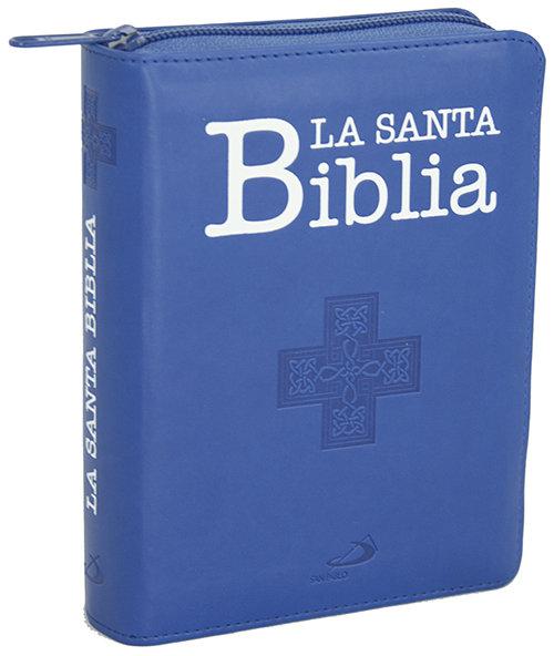 Santa biblia - edicion de bolsillo con funda de cremallera,l