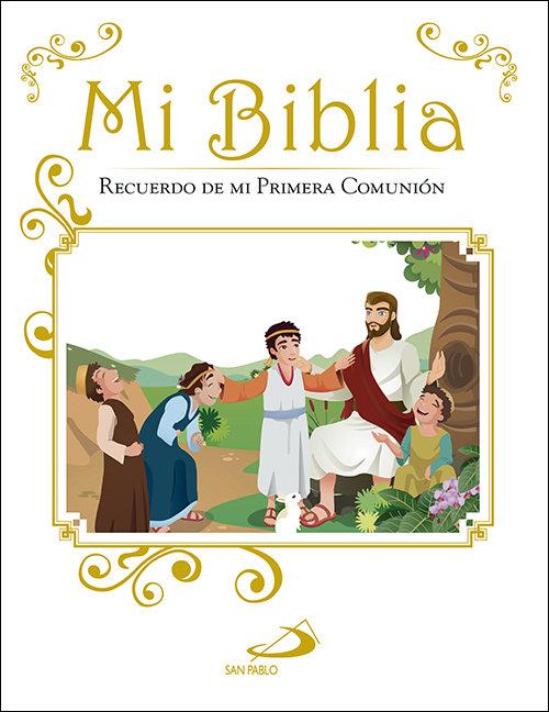 Mi biblia recuerdo de mi primera comunion