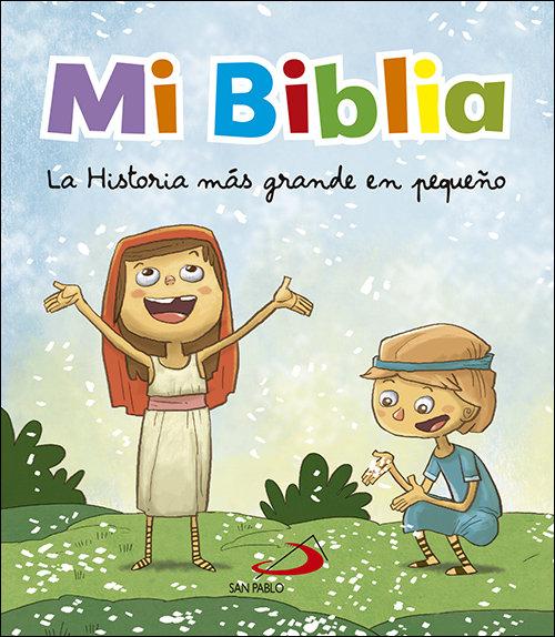 Mi biblia la historia mas grande en pequeño
