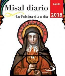 Misal diario agosto 2018