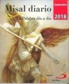 Misal diario septiembre 2018