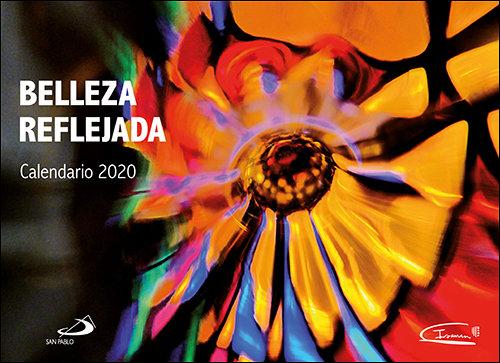 Calendario pared belleza reflejada 2020