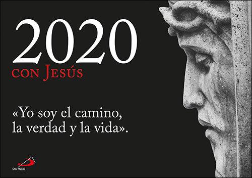Calendario pared 2020 con jesus yo soy el camino la verdad