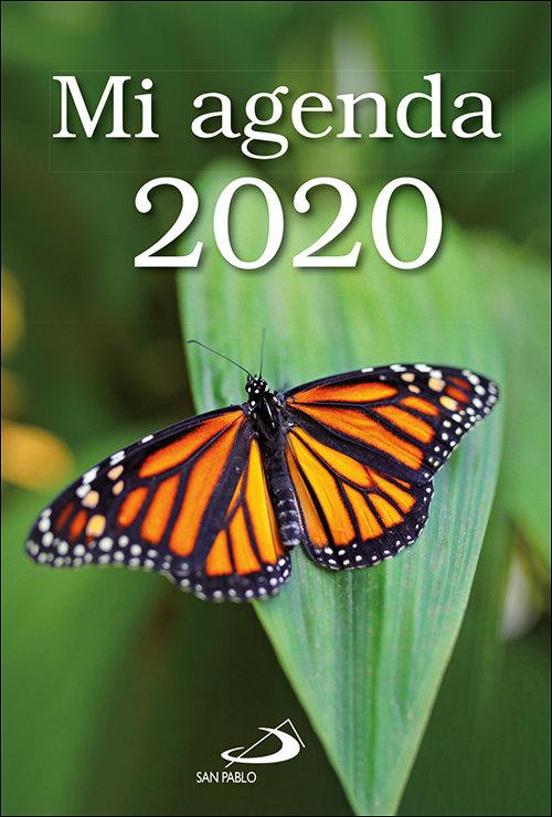 Mi agenda 2020 transparente