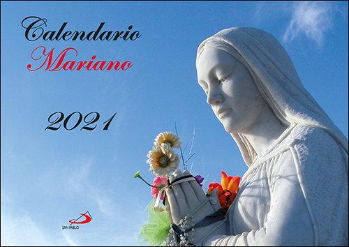 Calendario de pared mariano 2021