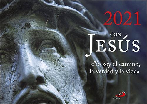 Calendario de pared 2021 con jesus
