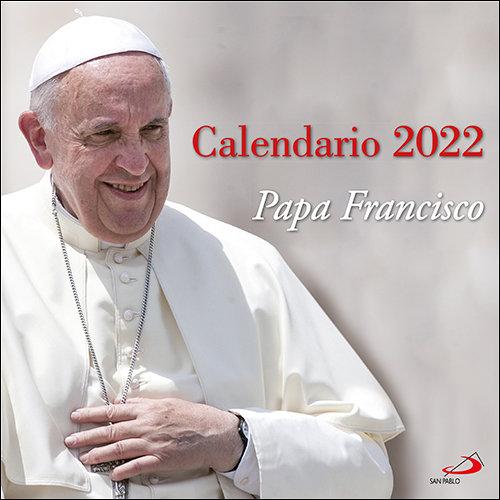 Calendario pared papa francisco 2022