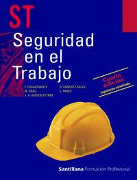 Seguridad en el trabajo, formacion profesional, gr
