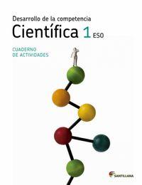 Cuaderno compet.cientifica 1ºeso 11 c.saber