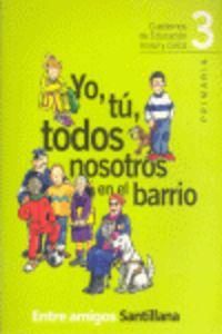 Cuaderno civico 3ºep ed.2001 entre amigos