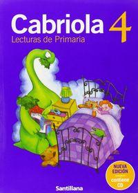 Cabriola 4ºep pack 2003 lecturas