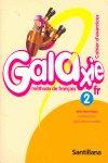 Galaxie frances 2 cuaderno