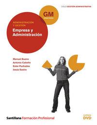 Empresa y administracion+dvd gm 10 cf
