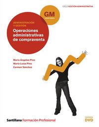 Operaciones compraventa+dvd gm 10 cf